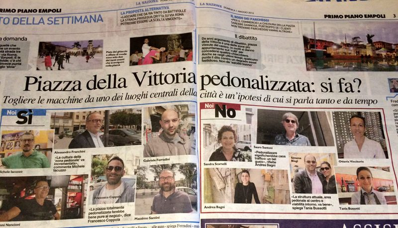 """La """"Tagliata"""" Di Piazza Della Vittoria – Carlo Pagliai"""