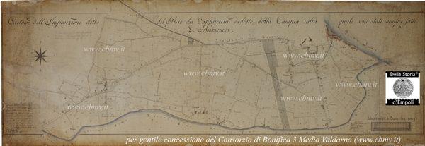 mappa n 04 Imposizione Rio dei Cappuccini 1826