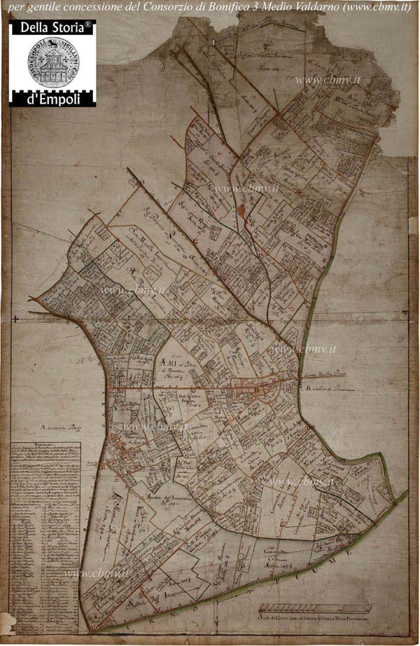 Mappa N 08 Imposizione Orme Spalla Destra 1752