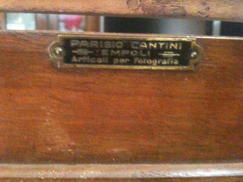 Particolare Della Macchina Parisio Cantini