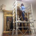 Restauro Al Museo Della Collegiata: Pulitura Sul Tabernacolo Di San Sebastiano