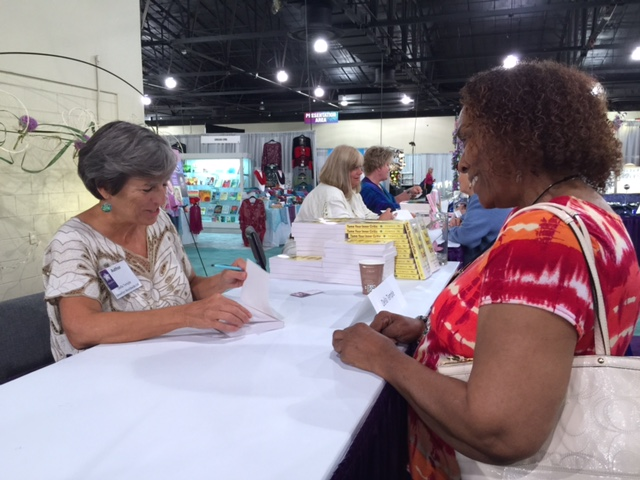Book Signing INATS Conference.