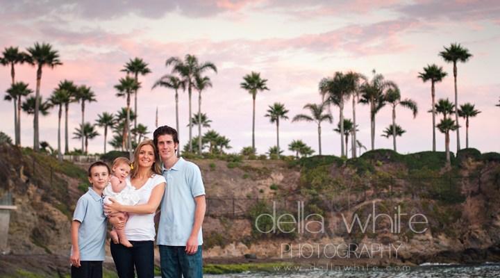 Laguna Beach Baby & Family Photographer ~ Candids of the Zaleski Family