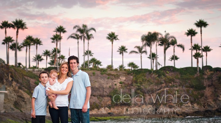 Laguna Beach Baby & Family Photographer ~ Candids of the Zaleski Family