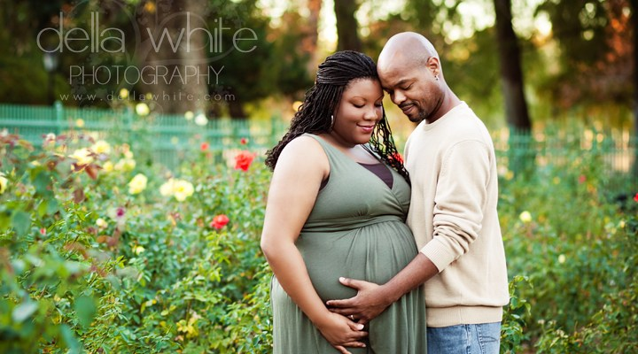Riverside Maternity Photographer ~ Tiffany & Matt