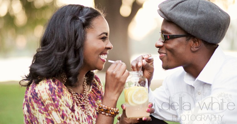 Riverside Engagement Session featured on Essence Magazine!