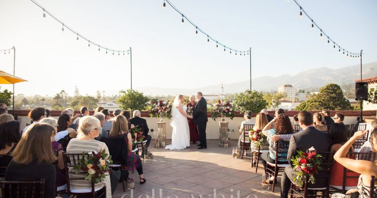 Canary Hotel Wedding Photography in Santa Barbara