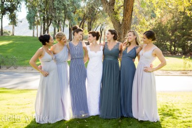 the happy bridesmaids