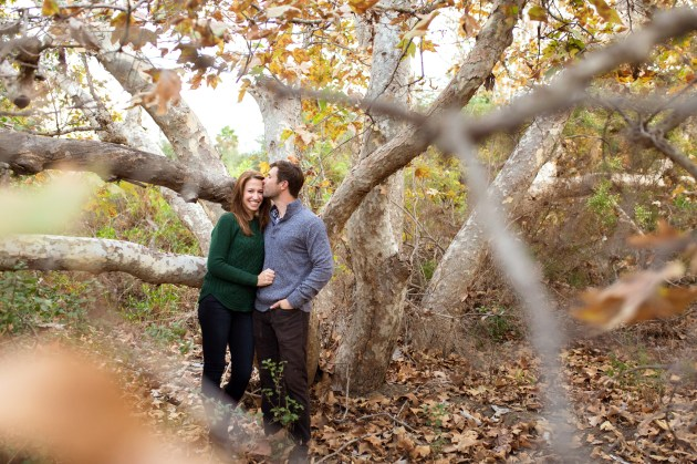 san diego engagement session in fall