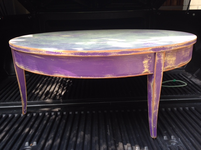 Super Fun Coffee Table Makeover Dells Daily Dish Camellatalisay Diy Chair Ideas Camellatalisaycom