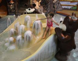 Timber Camp Water Adventure Playland at Meadowbrook Resort & Dells Packages in Wisconsin Dells