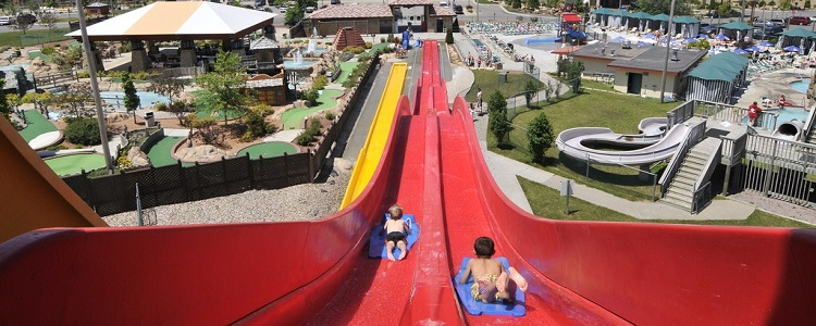 Speed Slides As Presented By Meadowbrook Resort & Dells Packages In Wisconsin Dells