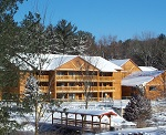 Winter Snow At Meadowbrook Resort & Dells Packages In Wisconsin Dells