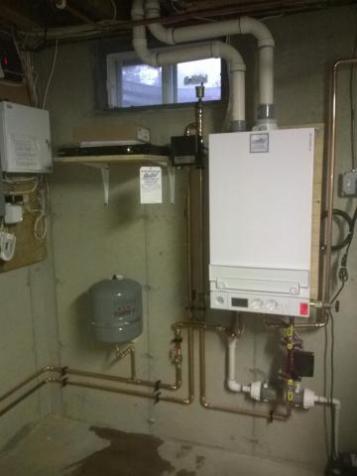 Viessman Boiler Installation