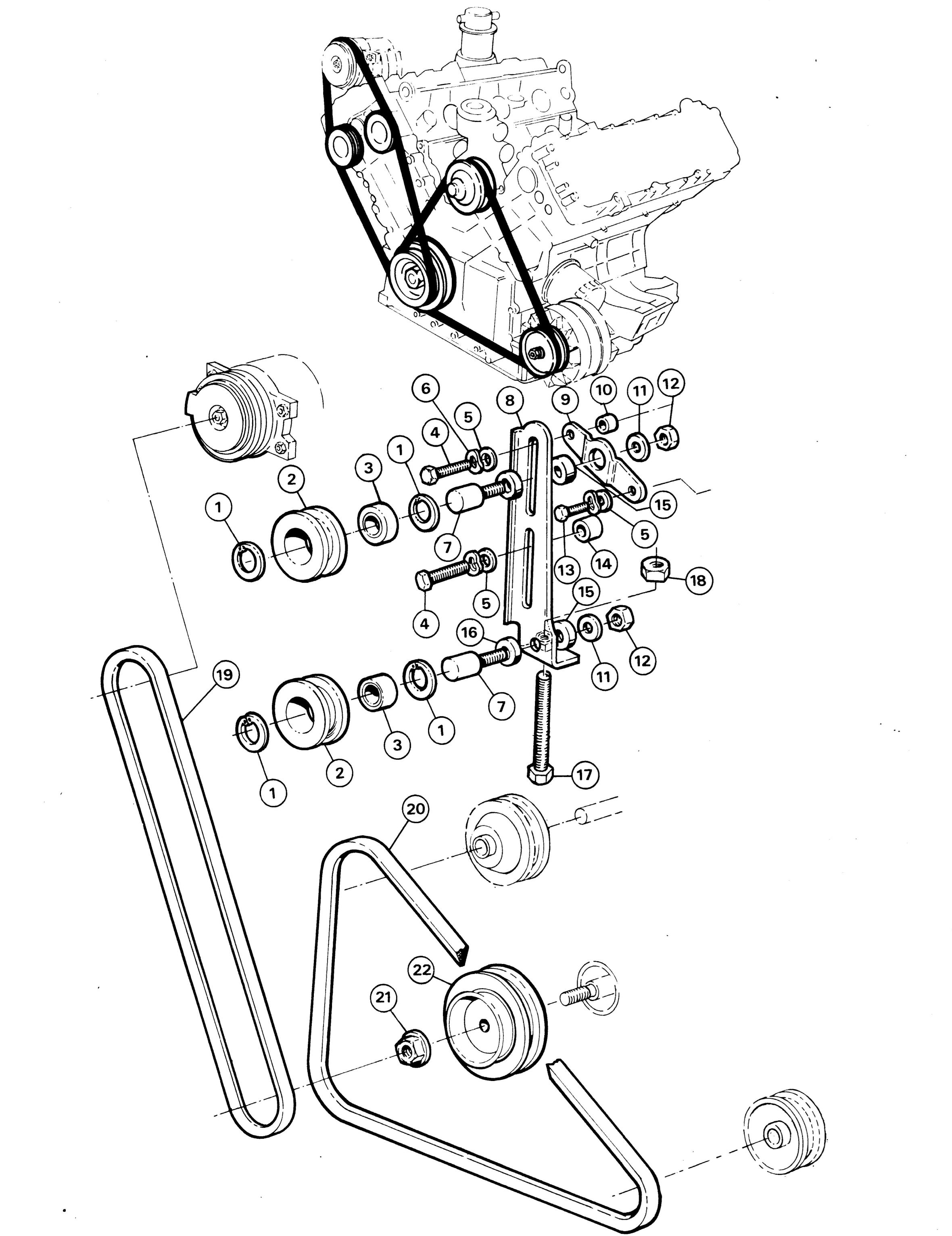 Oldsmobile Intrigue Belt Diagram