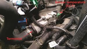 Elektronsko paljenje i ubrizgavanje -senzor temperature