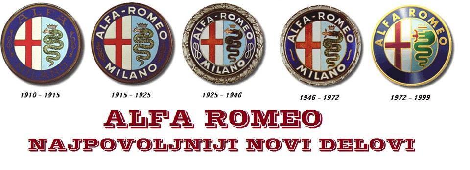 Alfa Romeo novi delovi