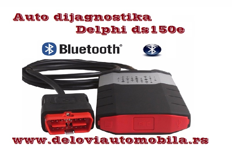 Auto dijagnostika Delphi ds150e