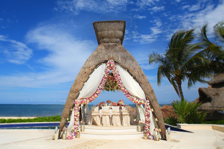 Destination Wedding Travel Agency Dreams Riviera Cancun photos by Del Sol Photography