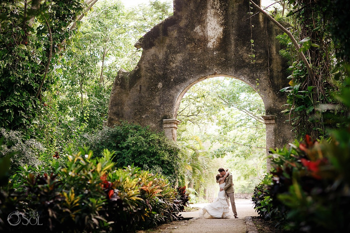 Unique wedding locations in Mexico for boho brides Hacienda Uayamon Campeche