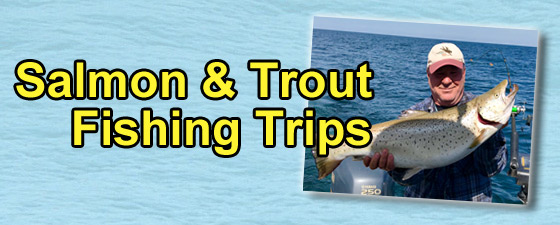 Michigan Fishing Trips - Salmon & Trout Fishing Trips - GET OUR CHARTER RATES
