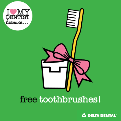 Free Toothbrushes