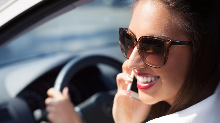 Smile Through Traffic Stress