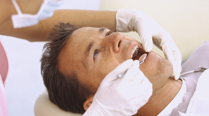 Your dentist is key when detecting oral cancer.