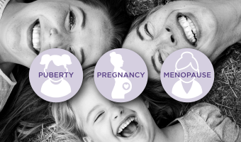 Puberty, Pregnancy & Beyond: A Women's Oral Health Timeline [INFOGRAPHIC]