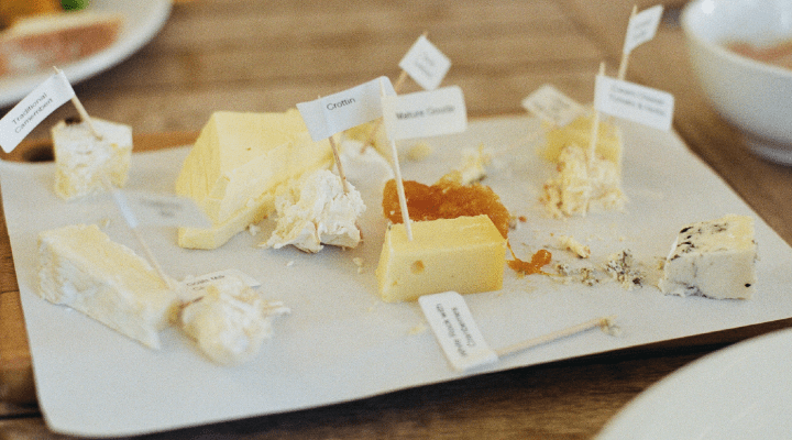 Choose these Cheeses for Your Smile