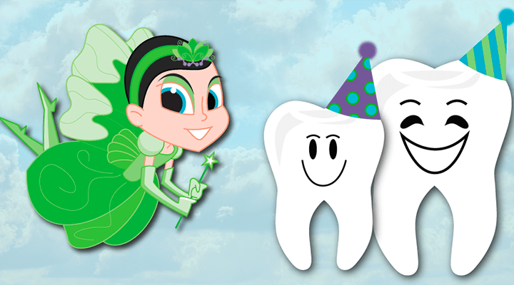 DIY Tooth Fairy and Baby Tooth Costume!