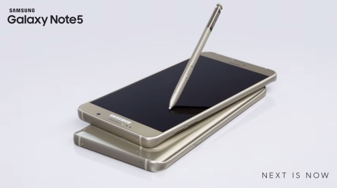Galaxy Note 5 with Stylus