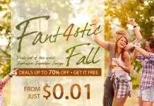 Gearbest Fantastic 4 Fall Promotion