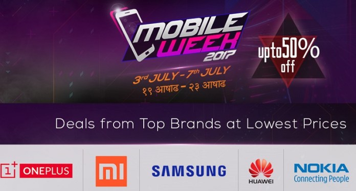 Daraz Kaymu Mobile Week 2017
