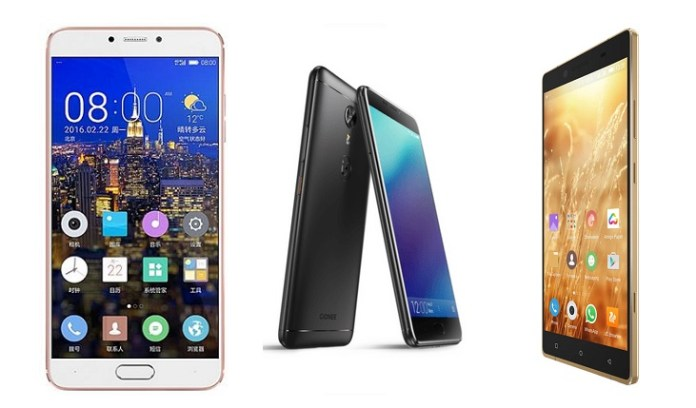 Latest Gionee smartphones price in Nepal