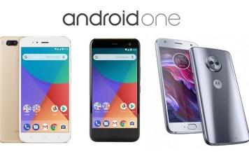 2017 Android One, HTC U11 Life, Mi A1, Moto X4