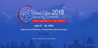 Global Cyber Security Summit 2018 Nepal