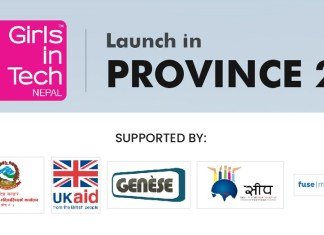 Girls in Tech campaign for Province 2 Nepal