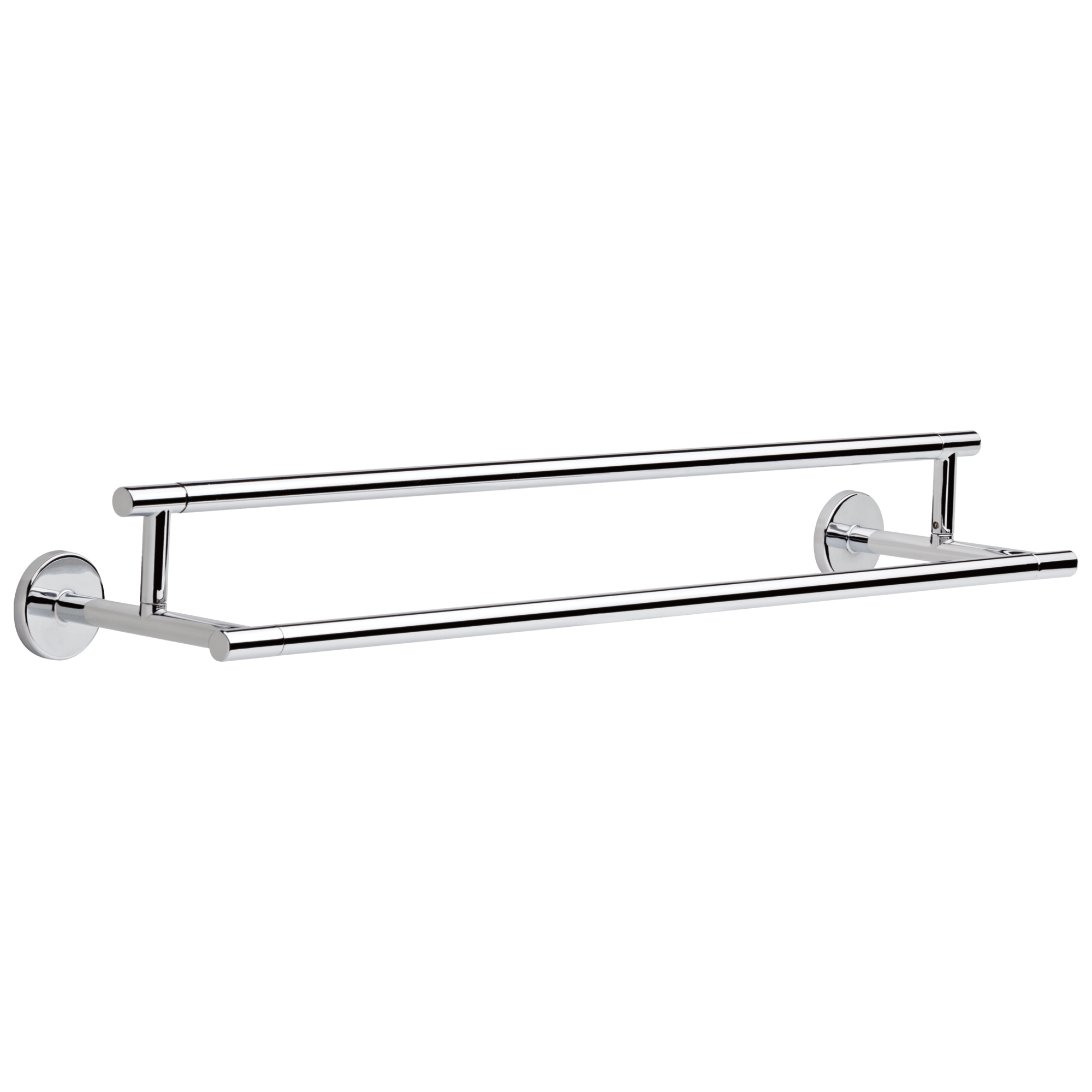 trinsic 24 double towel bar in chrome