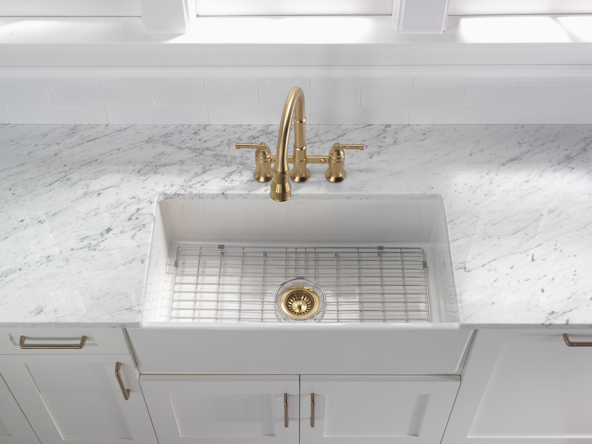 kitchen sink flange and strainer