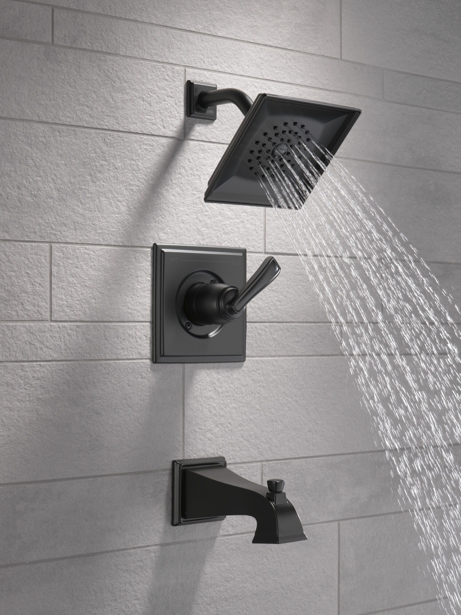 monitor tub and shower