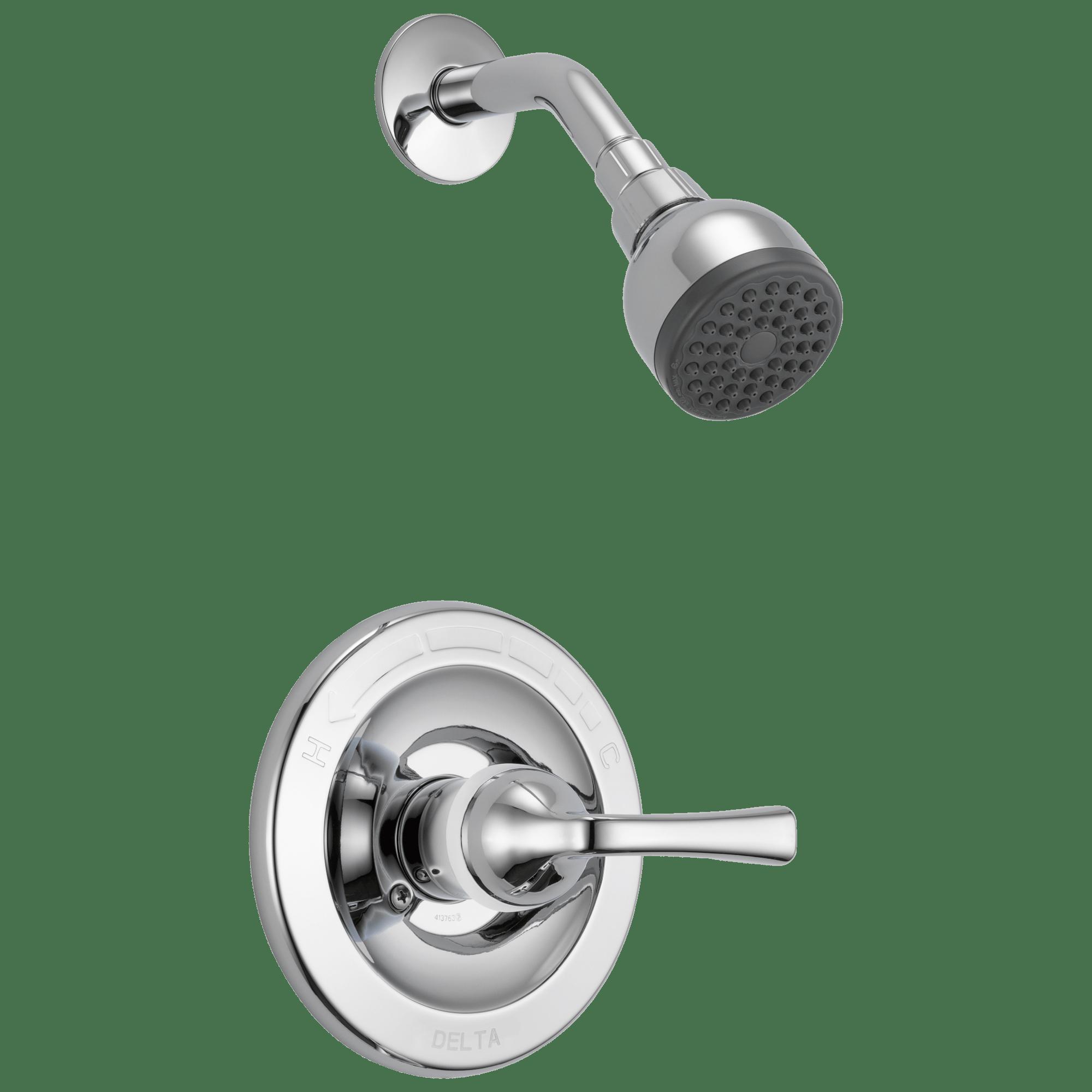 single handle shower