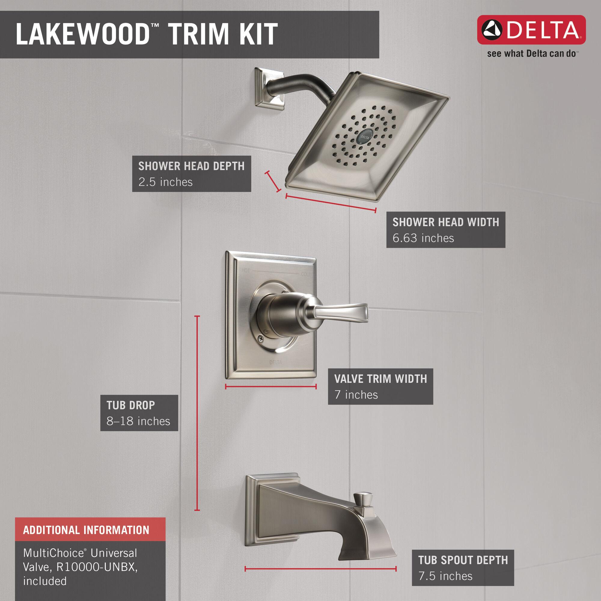 monitor 14 series tub shower trim