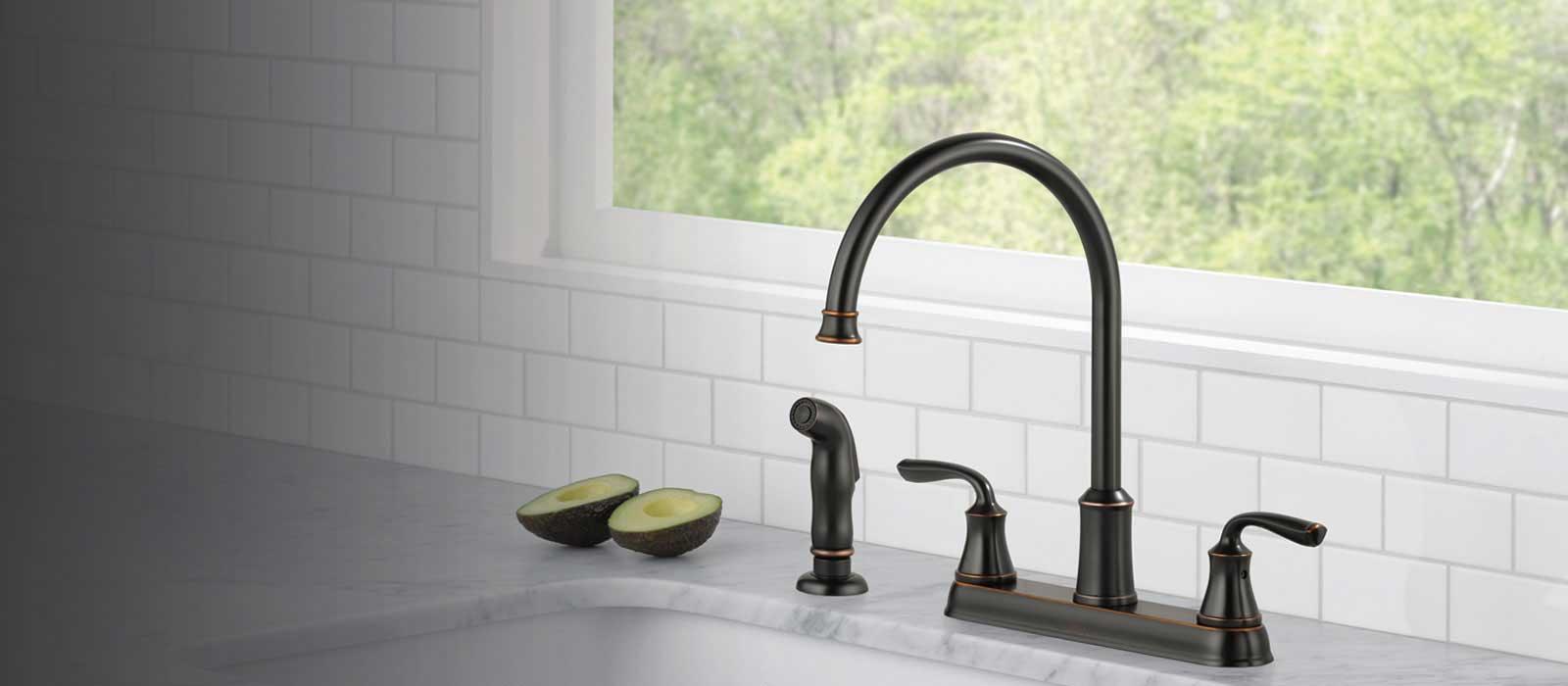 lorain kitchen collection delta faucet