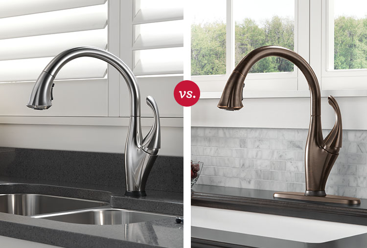 kitchen faucet finishes