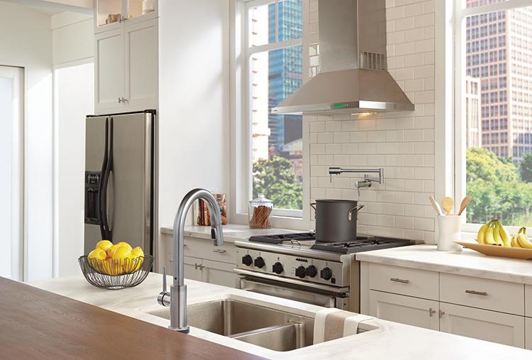 windowless kitchen sink