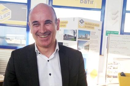 François Cornette, le directeur délégué de Sopra Steria en charge du site de Boulogne