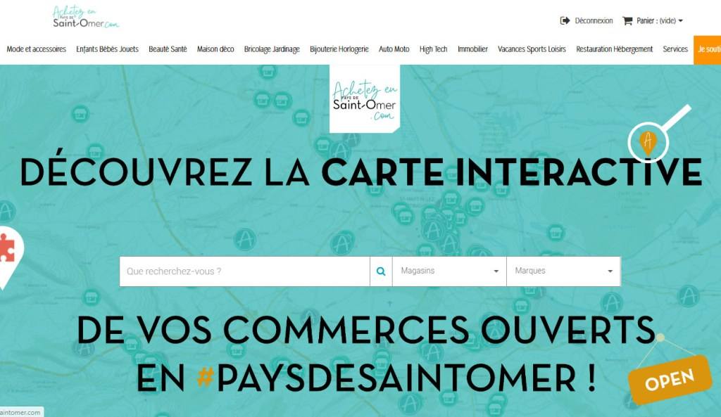 site de vente en ligne et rencontre)