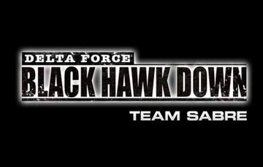 Delta Force Team Sabre Black Hawk Down