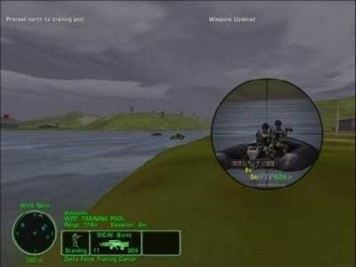 Map of Delta Force 3